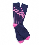 Alfredo Gonzales The Flamingo Socks purple pink (121)