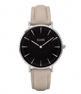 CLUSE La Boheme Silver Colored Black black grey (CL18218)