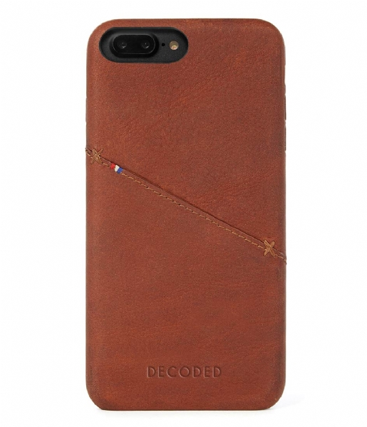 new concept c95d2 67739 iPhone 6/7 Plus Leather Back Cover