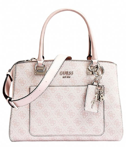 d9358653452 Kathryn Girlfriend Satchel blush Guess | The Little Green Bag