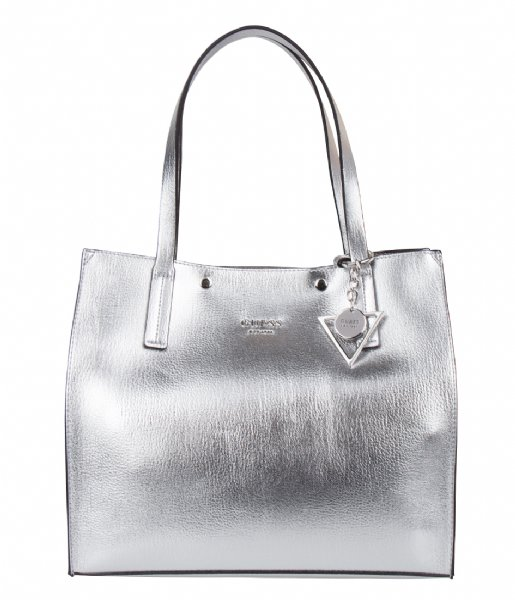 3df39f173d9 Kinley Carryall Silver Guess   The Little Green Bag