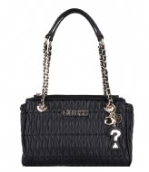 Guess Brinkley Society Satchel Black