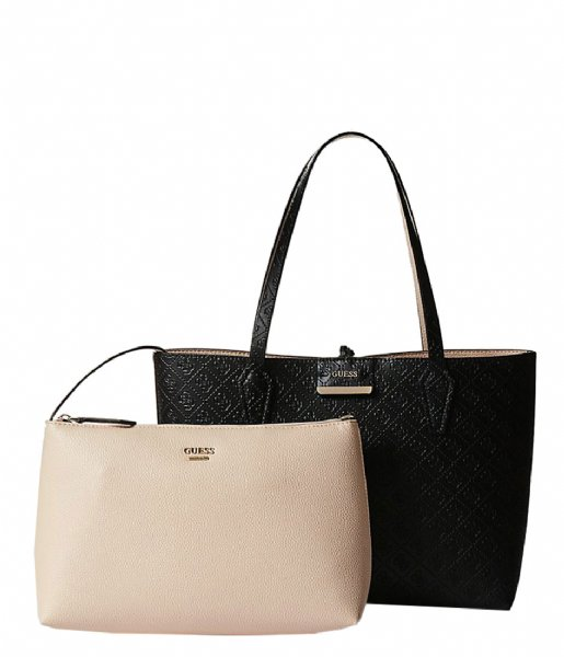 2652a335a6e Bobbi Inside Out Tote black/nude Guess   The Little Green Bag