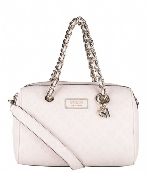 Guess  Logo Love Box Satchel blush