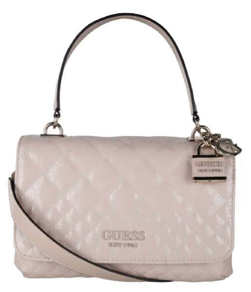 Guess  Queenie Top Handle Flap nude