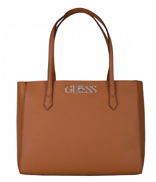 Guess  Uptown Chic Elite Tote Cognac