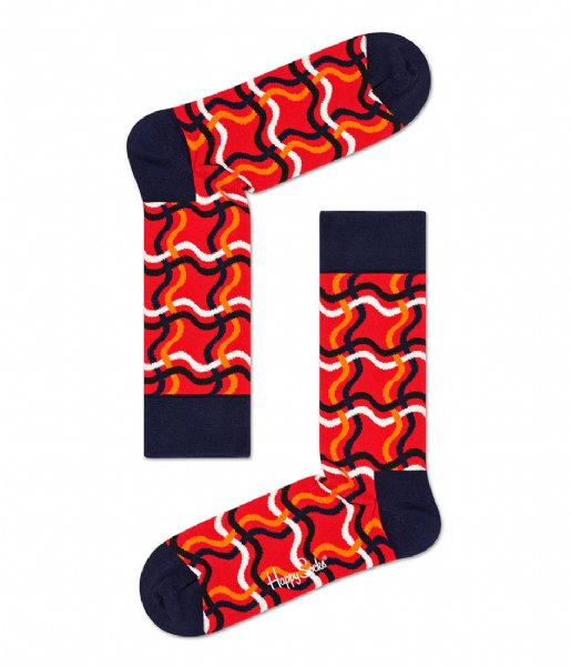 Happy Socks  Squiggly Socks squiggly (4300)