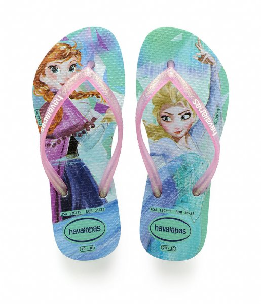 dd4c9a7a6cd7 Kids Flipflops Slim Frozen ice blue (0642) Havaianas