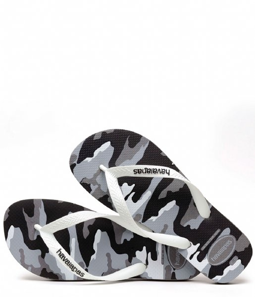 6a748686062d Flipflops Top Camu steel grey white (1077) Havaianas
