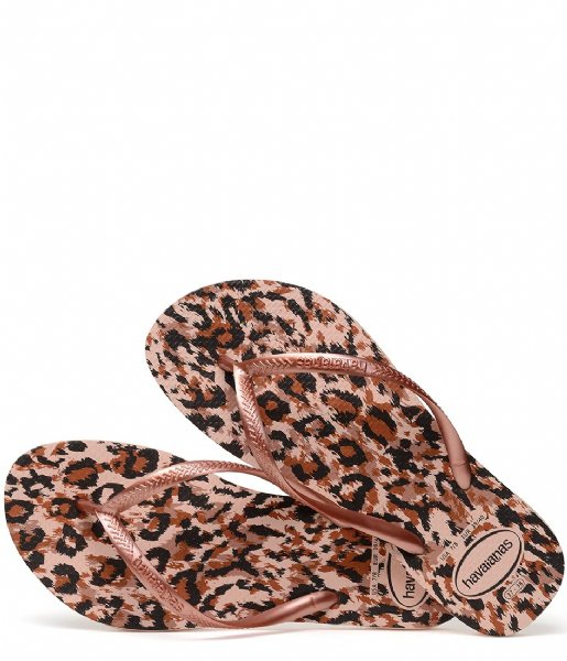 Havaianas  Flipflops Kids Slim Animals ballet rose (0076)