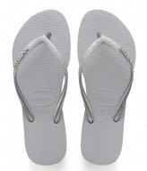 Havaianas Flipflops Kids Slim Shiny ice grey (3498)