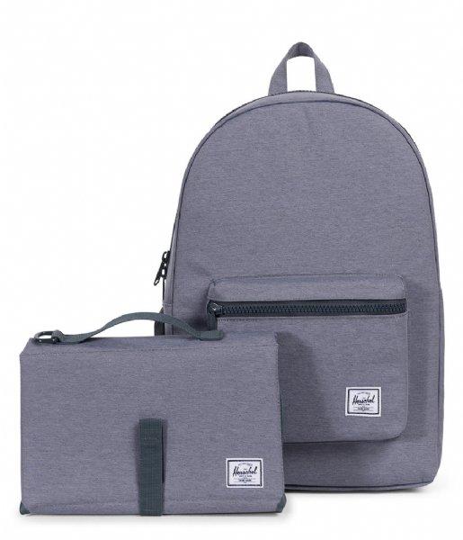 89c964f1c2c Settlement Sprout mid grey crosshatch (02137) Herschel Supply Co ...