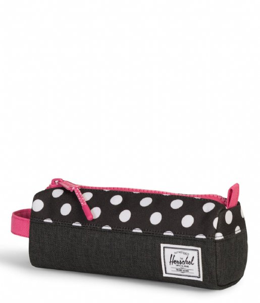 d61188b903 Settlement Case black crosshatch polka dot (02205) Herschel Supply ...