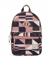 c1426989d9 Survey Kids black crosshatch polka dot (02205) Herschel Supply Co ...