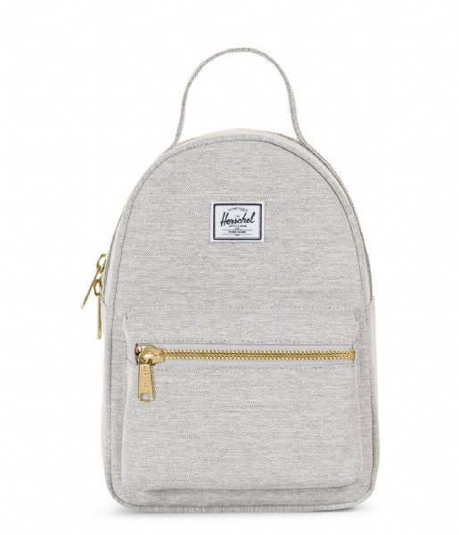 4f8541484 Nova Mini light grey crosshatch (01866) Herschel Supply Co.