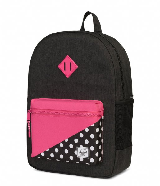 b2d81be876 Heritage Youth XL black crosshatch polka dot (02205) Herschel Supply ...