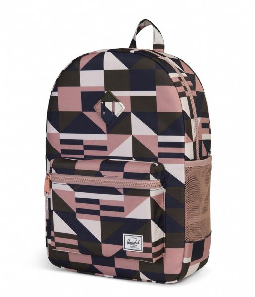 5aaf646a5b0 Heritage Youth XL frontier geo ash rose (02128) Herschel Supply Co ...
