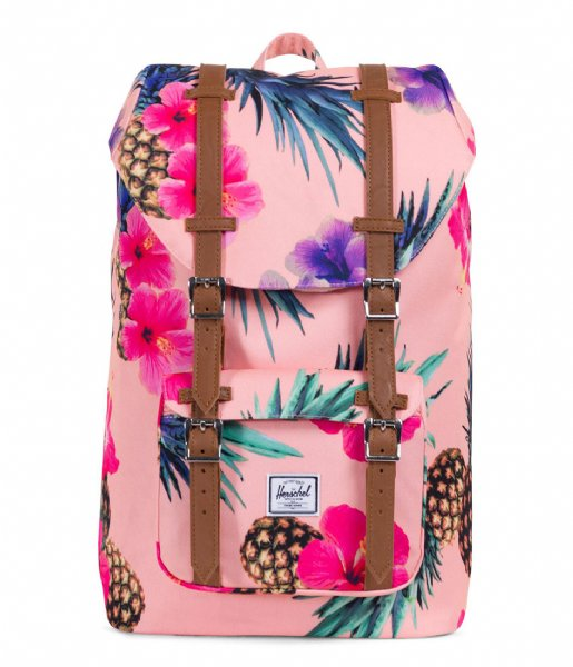 1ec7ac299cab Little America Mid Volume peach pineapple (02011) Herschel Supply Co ...