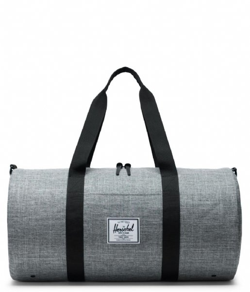 Herschel Supply Co.  Sutton Mid Volume raven crosshatch black (00919)