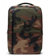 Herschel Supply Co. Travel Backpack woodland camo (00032)