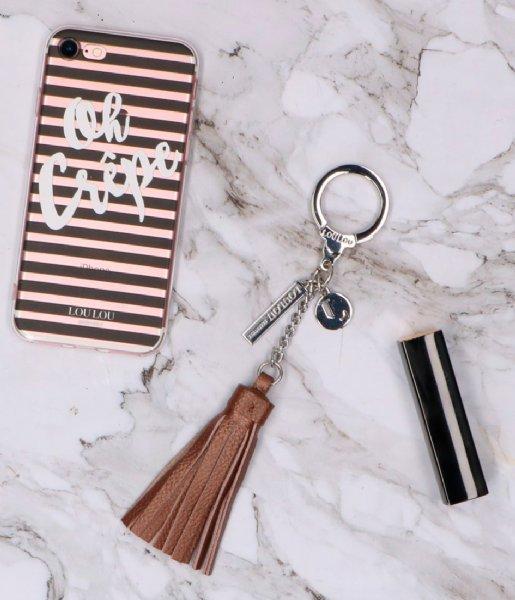 LouLou Essentiels  Keychain Pearl Shine Copper