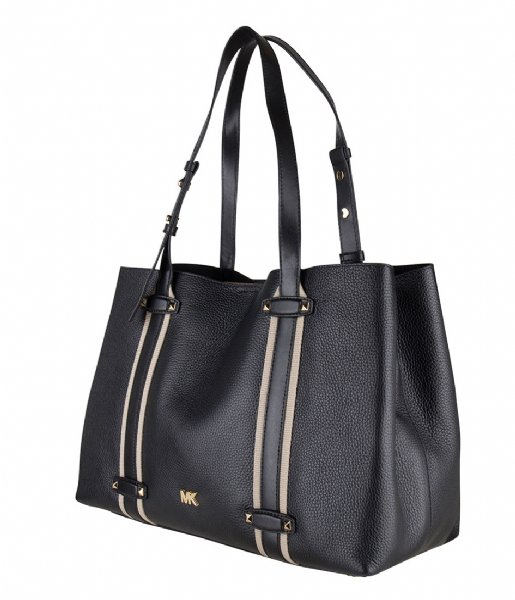 5c5244868a36 Griffin Large Tote black & gold hardware Michael Kors   The Little ...