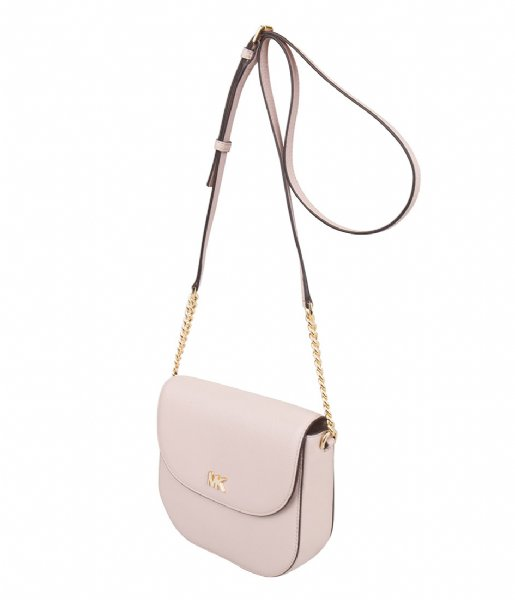 8e5f94d53bcd Half Dome Crossbody soft pink & gold hardware Michael Kors | The ...