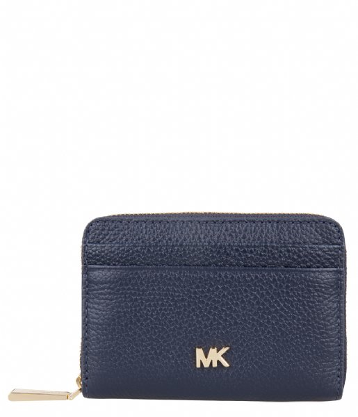 625e46969aed Mercer Zip Around Card Case admiral   gold hardware Michael Kors ...
