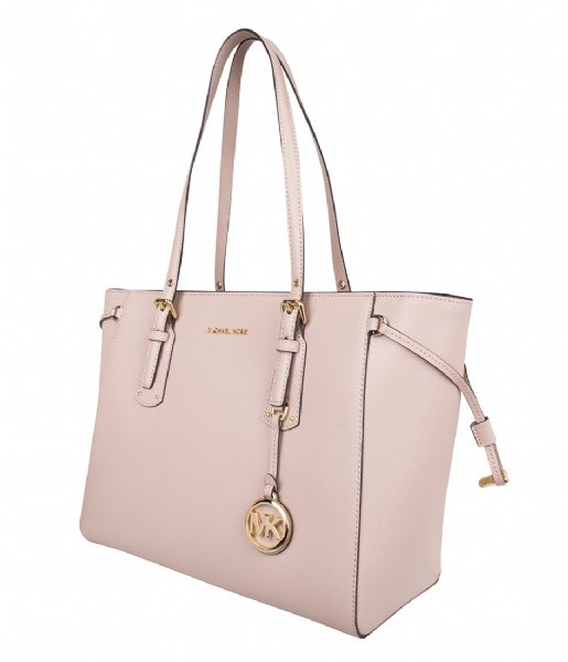 Voyager Medium Tote soft pink   gold hardware Michael Kors  e2cf5ff70d6a8