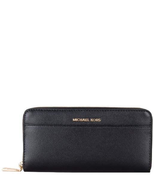 Michael Kors  Pocket Za Contntl black & gold colored hardware