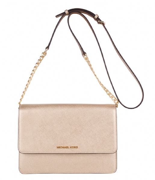 4ece05919e43 ... free shipping large gusset crossbody pale gold gold hardware michael  kors the little green bag a8196