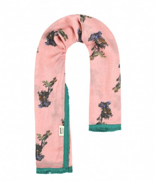 POM Amsterdam  Shawl Phantasy Land Pink pink (SP6103)