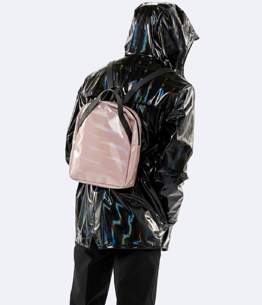 c95874148 Holographic Backpack Go holographic woodrose (29) Rains | The Little ...