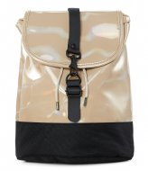 Rains Holographic Drawstring Backpack holographic beige (31)