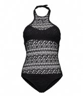 Shiwi Swimsuit High Neck Cool Croche black