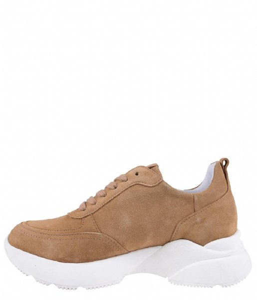 Zusss  Gave Sneaker light brown