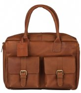 Burkely Vintage Finn Worker Laptop Bag 14 Inch cognac (24)