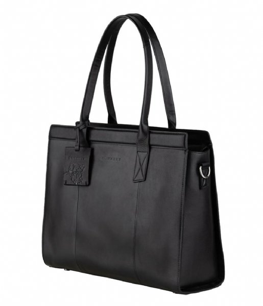 Burkely Laptop Shoulder Bag Suburb Seth Handbag M 14 Inch Black (10)
