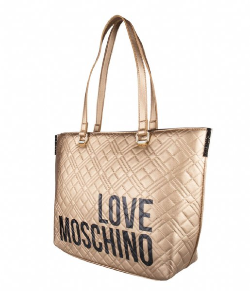 LOVE MOSCHINO Shoulder bag Borsa oro KE090AQ3-20