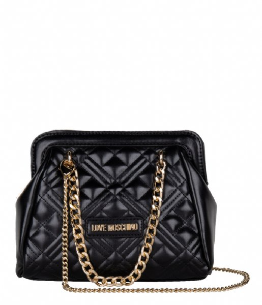 LOVE MOSCHINO Crossbody bag Borsa Quilted Nappa nero KA0000Q3-20